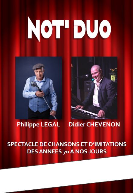 NOTDUO Spectacle Philippe LEGAL